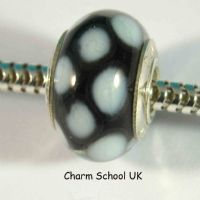 European Style Beads With Sterling Silver Core (8008)